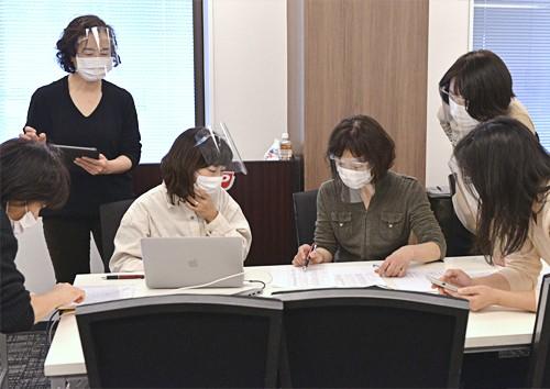1:00~三浦靖彦先生の入室を待ちながら受付スタート