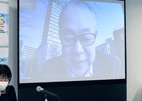 三浦先生到着。 みなさんこんにちは! 今日は訪問看護認定看護師さんの研修ということでとても楽しみにしています。
